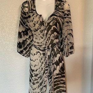 EXPRESS breezy summer dress m